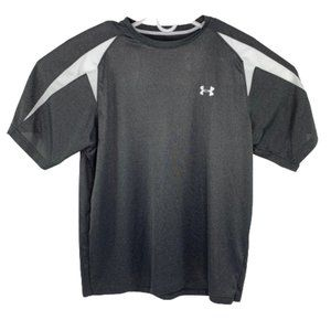 Under Armour HeatGear Short Gray/White Size XL